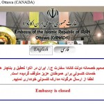 Canada closed Iran Embassy in Ottawa